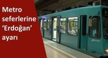 Metronun cumartesi tarifesine dikkat