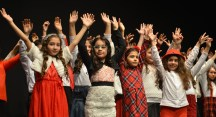Nilüfer Çocuk Korosu'ndan barışa çağrı