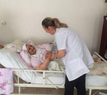 Bursa'da yeni uygulama: Hastalar evlerinde de yalnız değil