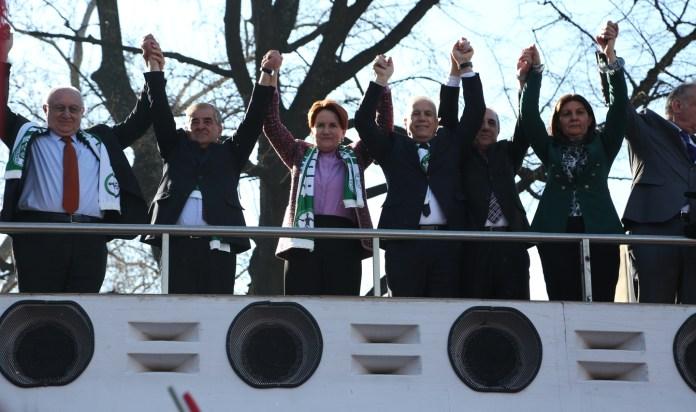 Akşener:1 Nisan'da, Türkiye'de bayram sofraları kurulacak