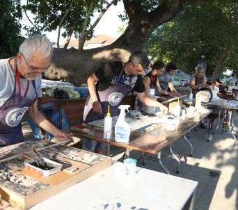 1. Uluslararası Apollonia Mozaik Çalıştayı başladı