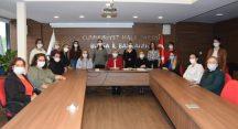 CHP Bursa İl Kadın Kollarında görev dağılımı