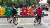 Barcelona'dan Bursa'ya pedal çevirdiler