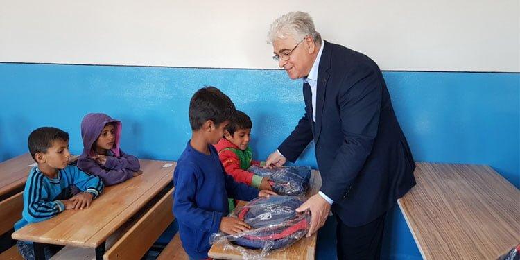 DİTİB'den Azez'e eğitim desteği