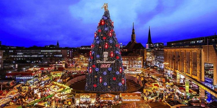 Dortmund Noel Pazarı 120.'ci kez açıldı