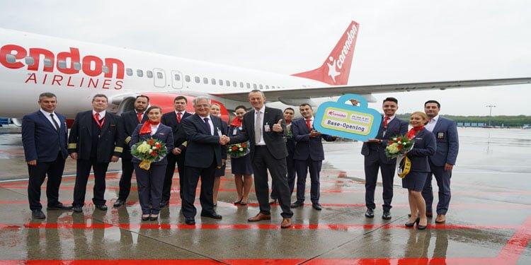 Corendon Köln-Bonn Havalimanı'ndan ilk sezon uçuşunu yaptı