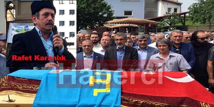 Batı Avrupa Kırım Türkleri Merkezi Başkanı Karanlık ebediyete uğurlandı