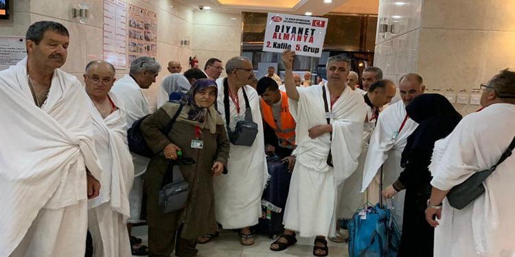 DİTİB'in hac kafilesi Mekke'ye ulaştı