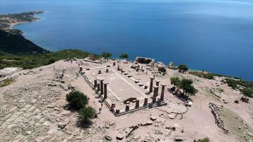 219 yıldır kazılan kent:Assos
