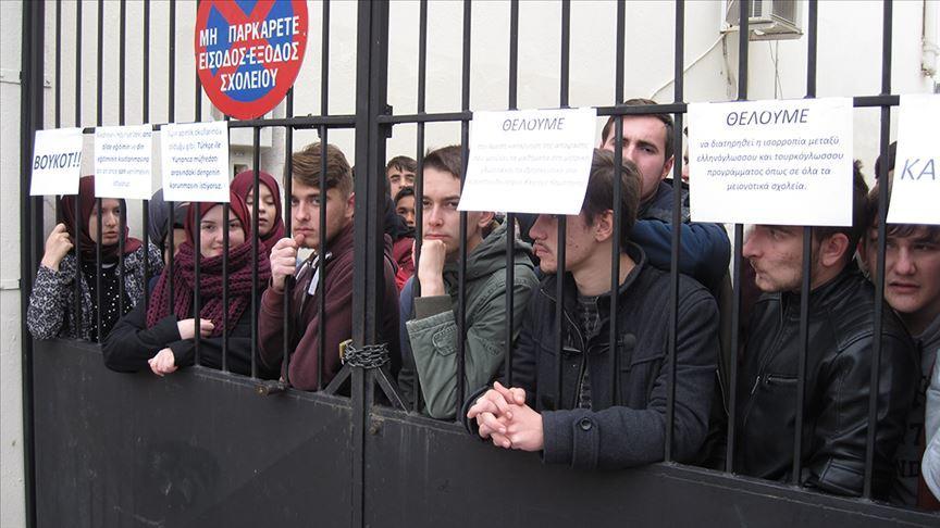 Yunanistan'ın Türk azınlığa baskısı devam ediyor