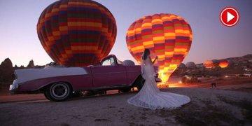 Kapadokya'da yeni aktivite: Klasik otomobil turu (VİDEOLU)