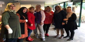 DİTİB'li kadınlardan huzurevine ziyaret