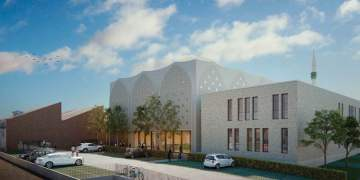 Feuerbach Yeni Cami semte zenginlik katacak
