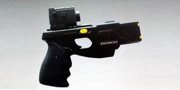 Polis elektroşok tabancası deniyor