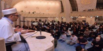Köln DİTİB Merkez Cami'nde Regaib Kandili Coşkusu