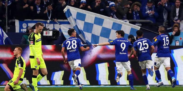Ahmed Kutucu'nun golü Schalke'ye yetmedi