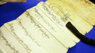 Avrupa'daki en eski Osmanlı temliknamesi Berlin'de ortaya çıktı