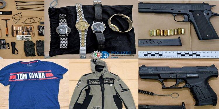 Polis silahlı soyguncuyu evinde yakaladı
