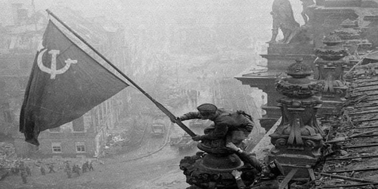 Nazi Almanyası'ndan kurtuluşun 75.'inci yıldönümü kutlandı