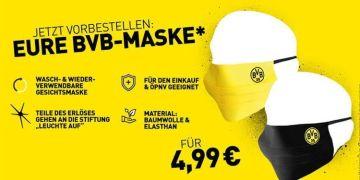 Borussia Dortmund'dan maske rekoru
