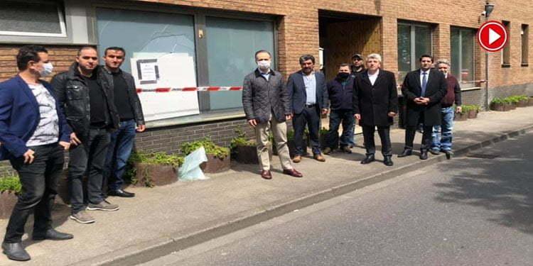 Almanya'da Ülkü Ocağı'na molotoflu saldırı (VİDEOLU)