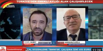 Türkiye'den emekli aylığı alan yurtdışında kısa zamanlı (Minijob) çalışabilecek (VİDEOLU)