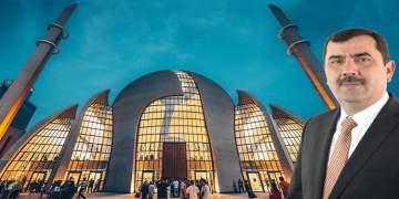 """Türkmen: """"DİTİB Merkez Cami Köln'e aittir, şehrin silüetinde yerini almış mimari şaheserdir"""""""