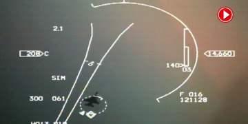 Türk F16 Savaş Uçağı Yunan jetine kilitlendi (VİDEO)