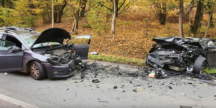Şerit ihlali ağır kaza getirdi