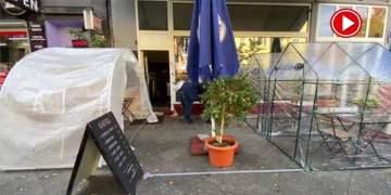 Koronaya karşı saydam çadır (VİDEO)