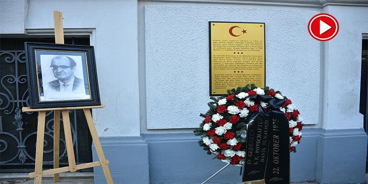 Avusturya'da Ermeni teröristlerce şehit edilen Büyükelçi Daniş Tunalıgil anıldı (VİDEO)