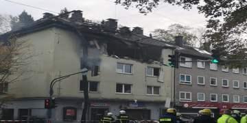 Wuppertal'de binada patlama