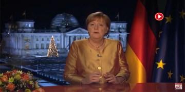"""Merkel:""""Kovid-19'la mücadele yüzyılın görevi"""" (VİDEO)"""
