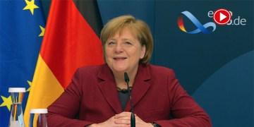 Almanya Başbakanı Merkel, Prof. Dr. Uğur Şahin ve Özlem Türeci ile gurur duyduklarını söyledi (VİDEO)