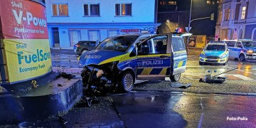 Devriye araçları kafa kafa çarpıştı : 5 polis yaralı