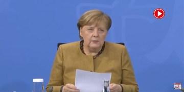 Almanya'da korona kısıtlamaları 31 Ocak'a kadar uzatıldı (VİDEO)