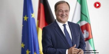 CDU'nun yeni genel başkanı Armin Laschet (VİDEO)
