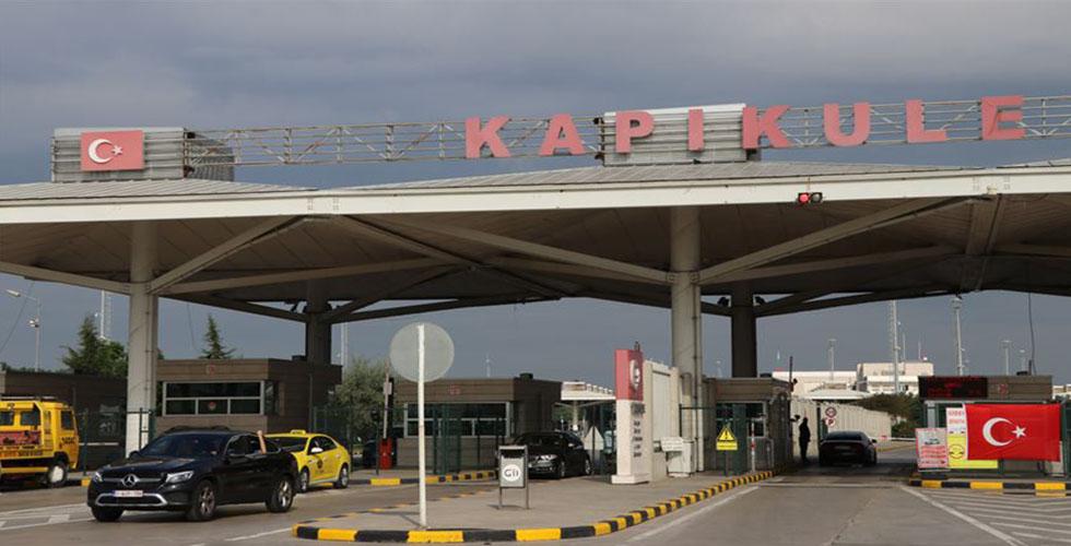 Kapıkule'den kaçak eşya geçirmek isteyen yandı (VİDEO)