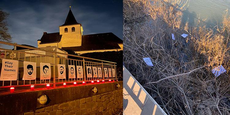 Almanya'da Hanau kurbanlarının anma yerlerine Nazi saldırısı