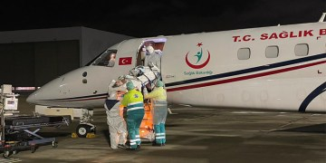 Hollanda'nın ölüme terk ettiği hastayı Türkiye tahliye etti