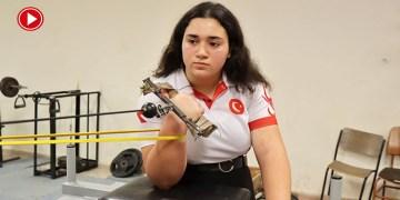 Bileği bükülemeyen milli sporcu Merve Yenidünya yeni şampiyonluklar peşinde (VİDEO)