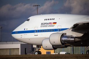 Uçan teleskop SOFIA, Almanya'da