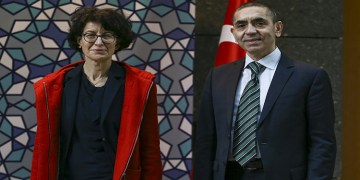 Almanya'da Prof. Dr. Uğur Şahin ve eşi Dr. Özlem Türeci'ye liyakat nişanı verildi (VİDEO)