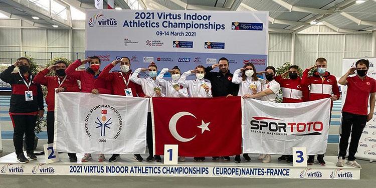 Türkiye Özel Sporcular Kadın Milli Takımı Avrupa şampiyonu oldu