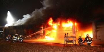 Yangında yüzbinlerce euroluk hasar