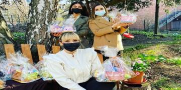 Hasta Çocuklara 110 Paskalya Sepeti