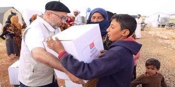 Suriyeli mültecilere Duisburg'dan yardım eli
