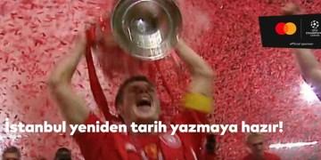 İstanbul'da gerçekleştirilecek UEFA Şampiyonlar Ligi finalinin tanıtım videosu yayımlandı