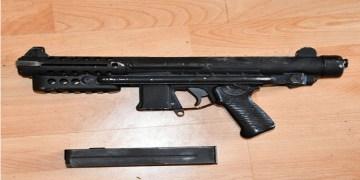 Depo baskınında silah ve mühimmat bulundu