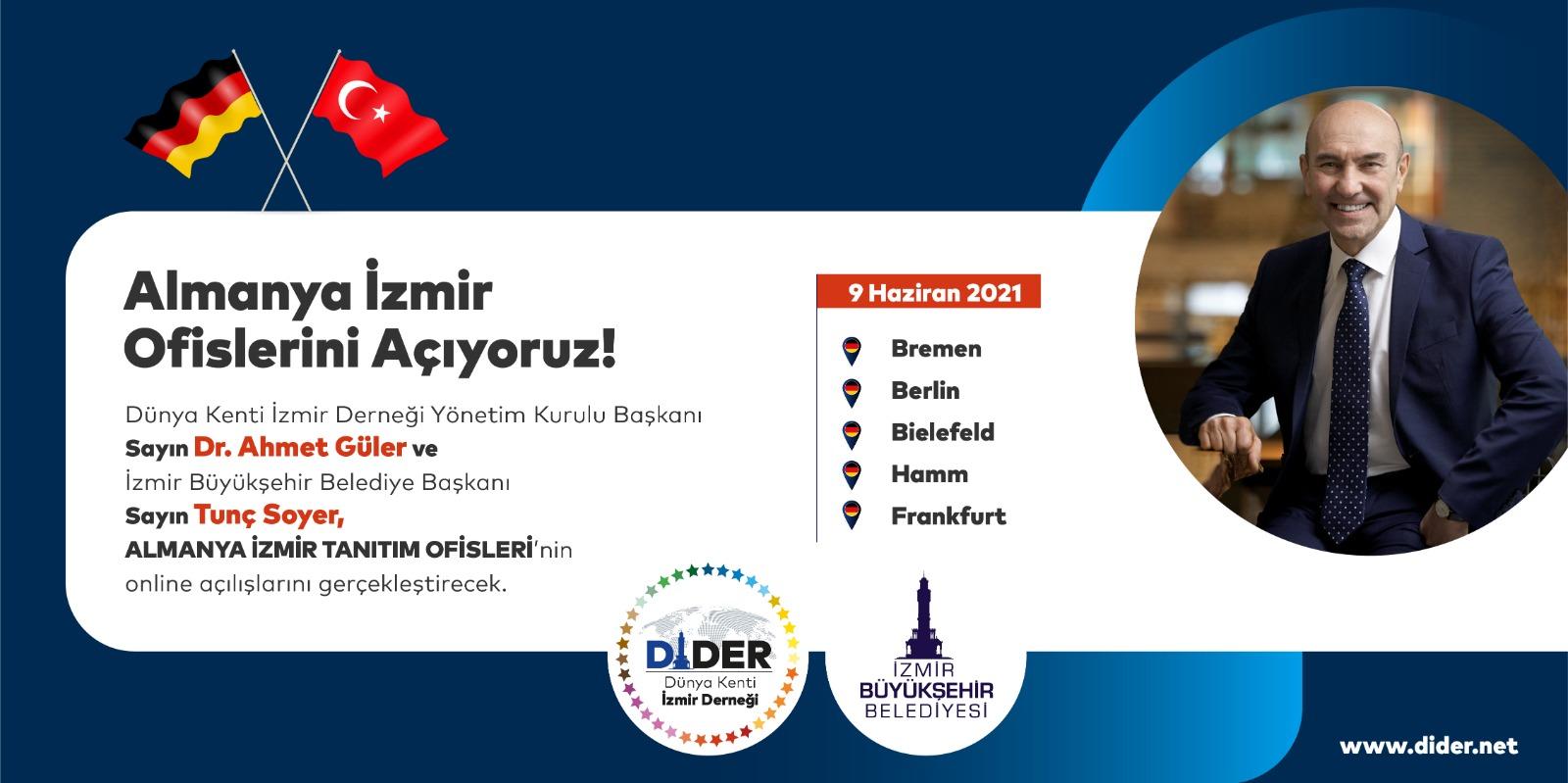 İzmir tanıtım ofisleri Almanya'da açıldı